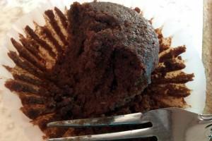 Brownie (half eaten)